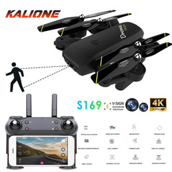 Drone 4K HD Dual Camera HD Aerial Photography gimbal drones WiFi Real-time Transmission Optical Flow Positioning quadrocopter
