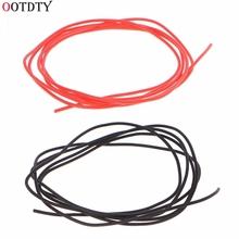 1M 28AWG elastyczny przewód silikonowy kabel RC miękki odporny na wysoką temperaturę przewód silikonowy s tanie tanio OOTDTY NONE CN (pochodzenie) Other Silicone Wire 8Huan336143 ze skrętek