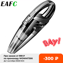 Handheld Vacuum Cordless 6000pa Powerful Cyclone Suction Portable Rechargeable Vacuum Cleaner 6053 Charge for Car Home Pet Hair