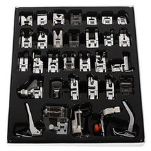 Neue Nützliche Nähmaschine Fuß Füße Presser Kit Set Für Brother Janome Singer 32PCS