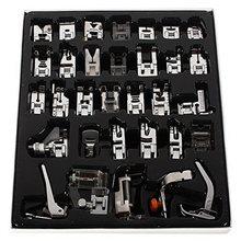 Nova Útil Kit Conjunto Pé Pés Máquina de Costura Calcador Para O Irmão Janome Cantor 32PCS