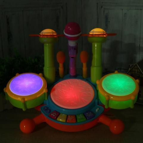 bebe musical tambor de brinquedo criancas jazz