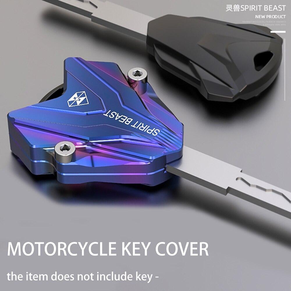 SPIRIT BEAST Motorcycle Key Cover Case Shell For Yamaha Honda Suzuki Ktm Bmw Piaggio Vespa Benelli