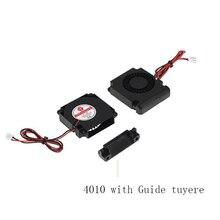 Аксессуары для 3D-принтера 12 В 24 в 40*10 мм 4010 40 мм DC турбо подшипник вентилятора воздуходувка Радиальные Вентиляторы Охлаждения Creality CR-10 комплект