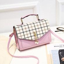 Womens bag 2019 new handbag fashion autumn winter single shoulder oblique Korean version of a hundred womens