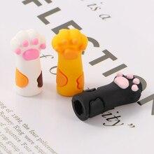 1Pcs Cute Nipper Cover Protective Sleeve for Nail Cuticle Scissors Manicure Pedicure Tools Dead Skin Tweezers Cap