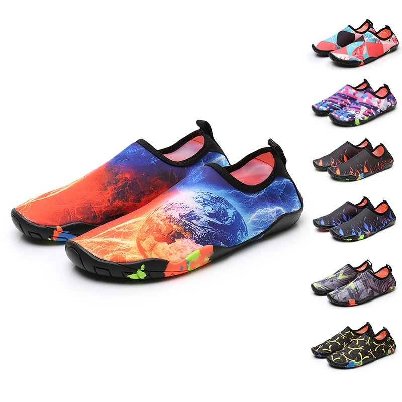 Sports Swimming Surf Yoga Sport Beach Rubber Reef Non-Slip Durable Sneaker Men Women Quick-Dry Water Shoes Suitable for outside