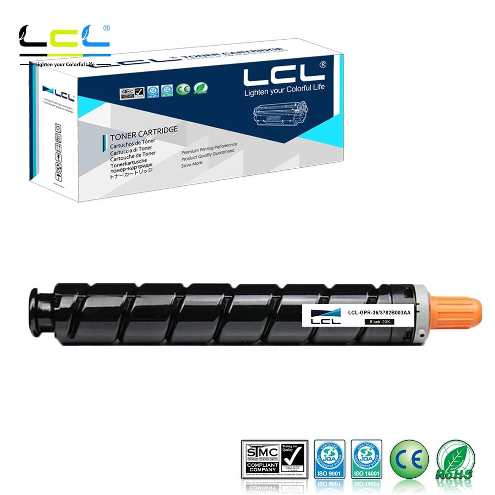 LCL GPR-39 2787B003AA (1 paquet noir) cartouche de Toner Compatible pour canon (GPR-39) imageRUNNER 1730/1730/1730IF/1740/1740IF