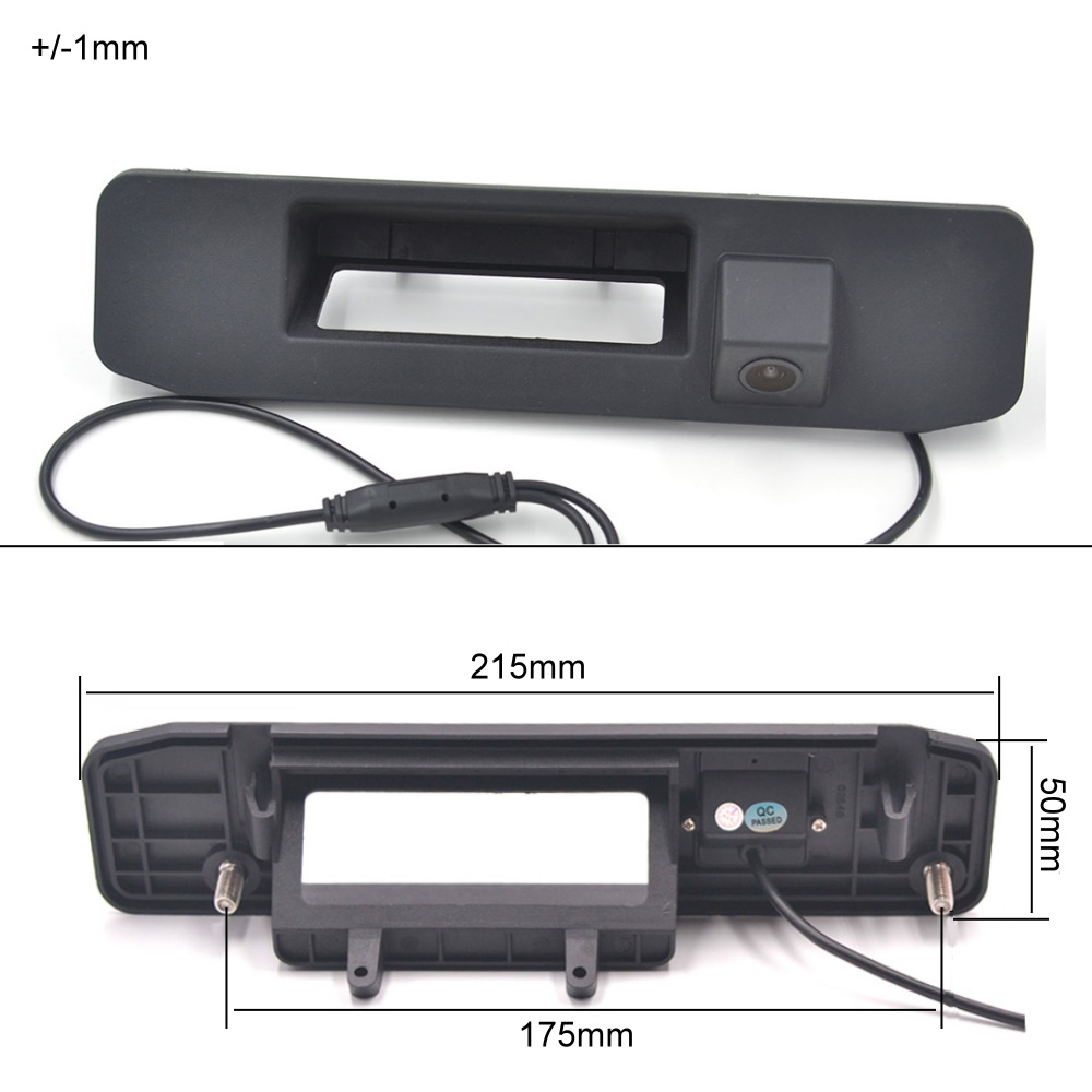For Mercedes Benz A Class W176 A180 A200 A260 Trunk Handle Car Rear View Camera Auto Reverse Backup Parking Night Vision HD