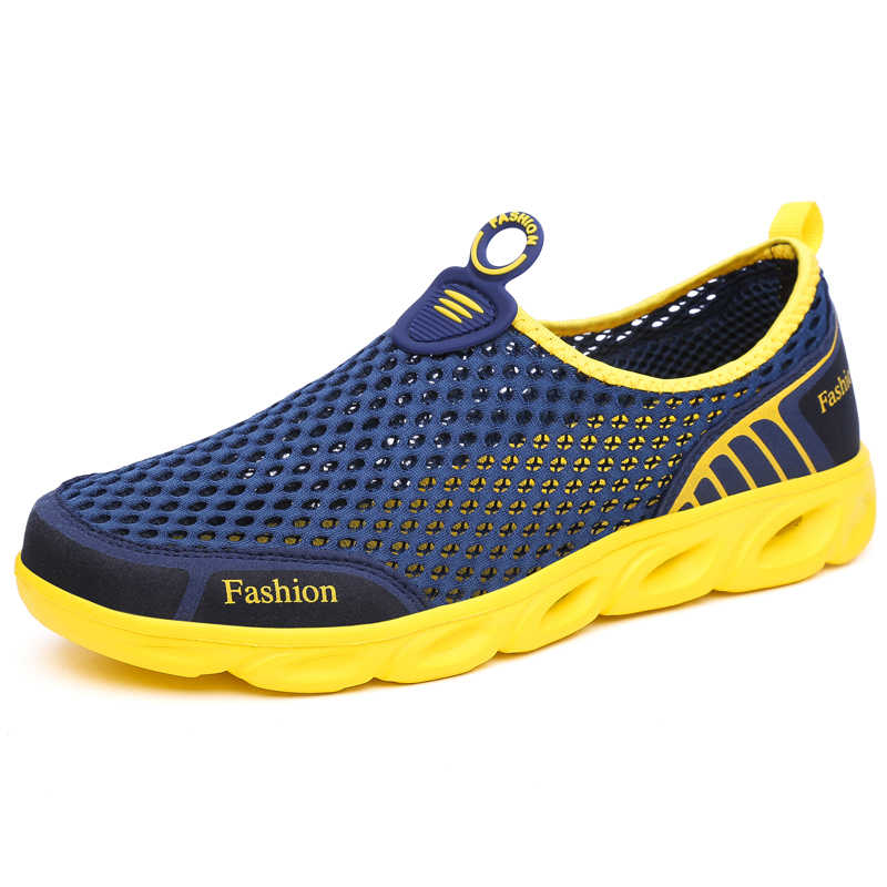 Yaz ayakkabı erkekler nefes Aqua ayakkabı kadın kauçuk Sneakers yetişkin plaj terlikleri memba ayakkabı yüzme sandalet dalış çorapları