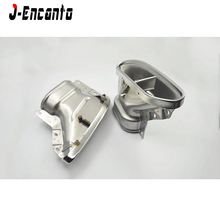 S class quality Brand New 304 Stainless Muffler tips Rear Exhaust end pipe for Mabac* Benz Class S500 S320 S350 S450 2018 up