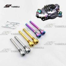 TAIMEILI M4 болты из титанового сплава для велосипеда масляный тормоз тормозные колодки титановые штырьковые вставки винты для XT/XTR 2шт