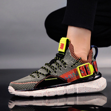 цены Sneakers for Men Breathable Light Rubber Mens Athletic Shoes Trend Walking Shoes Zapatos Hombre Running Shoes for Men Lace-up