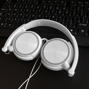 Image 1 - Cute Wired Headphones For IPhone Xiaomi Sony Huawei PC With Microphone Over Ear Headsets Bass HiFi Sound Music Stereo Earphone