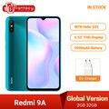 Новая глобальная версия Xiaomi Redmi 9A 9 смартфон 2 Гб оперативной памяти, 32 Гб встроенной памяти, Процессор MTK Helio G25 Octa Core 6,53 дюймов 5000 мА/ч, 13MP камер...