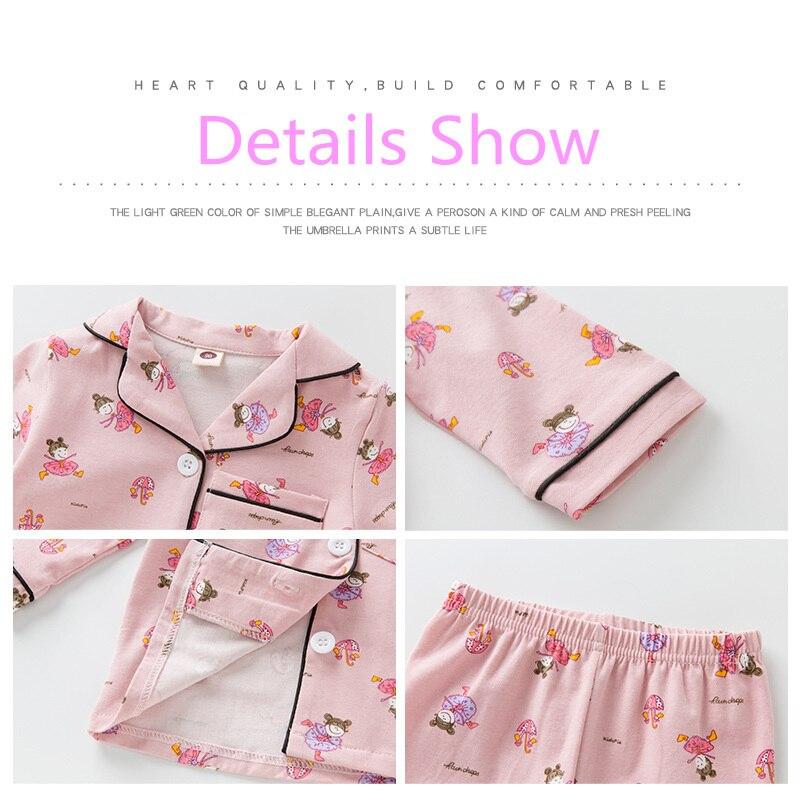 SAILEROAD Children Cartoon Dinosaur Pajamas For Girls Kids Animal Printed Pyjamas Girls Pajamas Child Home Wear Boys Sleepwear 4