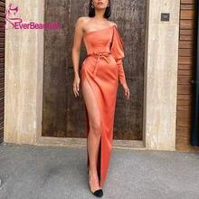 Vestidos de fiesta атласное вечернее платье Русалочки 2020 с