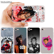 Jus Wrld Death Race Pour iphone 11 Pro X XS Max XR Housse EN TPU Souple Pour iphone 7 8 Plus 7Plus SE 2020 6 6S Plus Couqe(China)