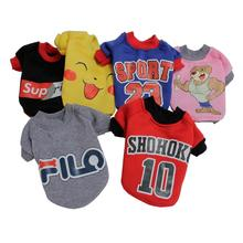 цена на High Quality Cartoon Pattern Dog Puppy Winter Sweater Small Dog Cat Small Warm Winter Dogs Pet Clothing Coat Pet