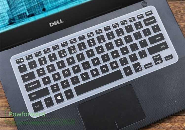 غطاء لوحة مفاتيح من السيليكون للكمبيوتر المحمول من Dell Latitude 3400 3480 5400 3490 14 بوصة
