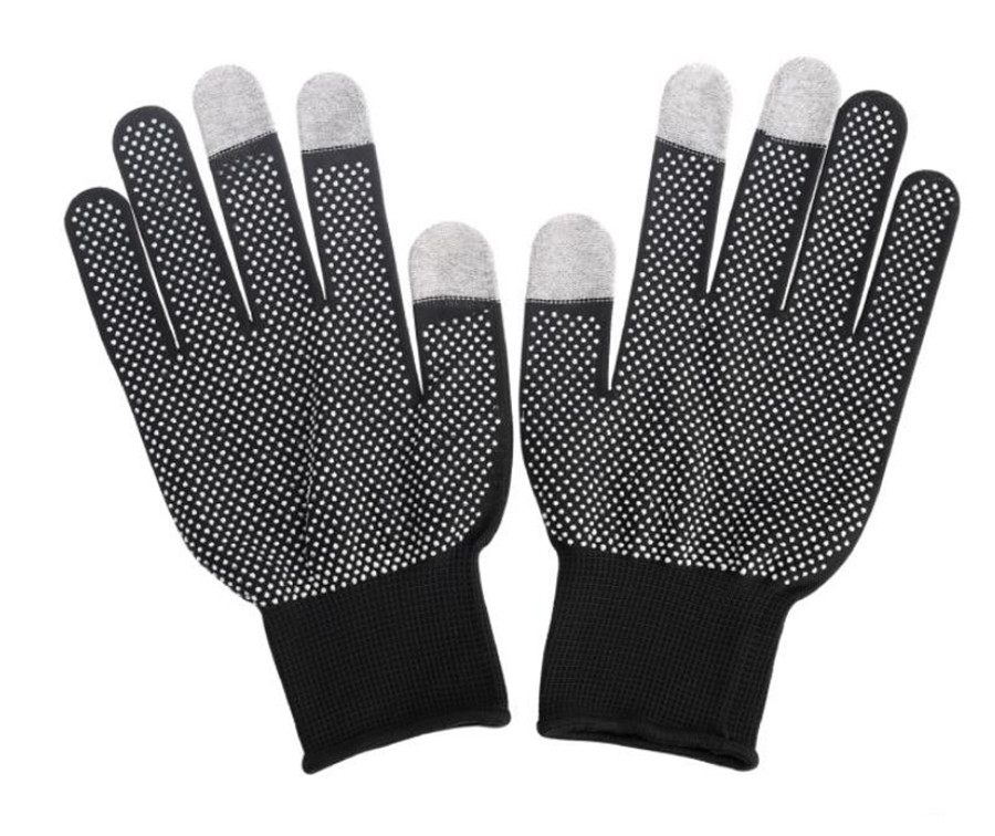 UNWE Breathable Anti Skid Gel Touch Screen Gloves for Summer Suitable for Bike Riding and Driving Enables to Use Phone Without Exposing Hands 5