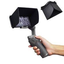 STARTRC Smartphone güneşlik Hood kapak koruyucu DJI OSMO cep 3 Gimbal el Gimbal güneşlik Hood ProtectorAccessories
