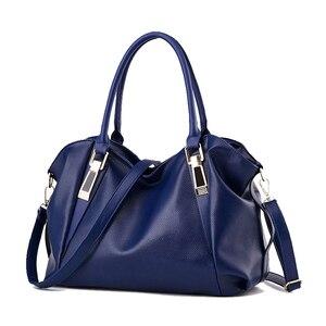 Image 2 - TTOU Designer Women Handbag Female PU Leather Bags Handbags Ladies Portable Shoulder Bag Office Ladies Hobos Bag Totes