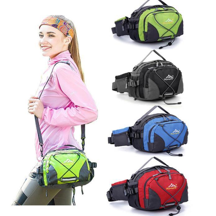 Waterproof Running Belt Bum Waist Pouch Fanny Pack Outdoor Sport Hiking Shoulder Bag Waist Pack