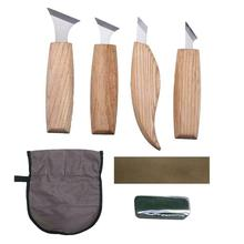 7Pcs/Set DIY Woodworking Carving Hand Tools Flat Woodworking Chisel Carpenter Tool Professional Wood Carving Knife Hand Tools