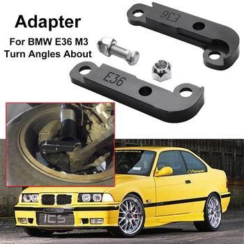 Auto Parts 1 Pair Aluminum Car Increasing Turn Angle Adapter Drift Lock Kit for BM-W E36 Durable Car Accessories