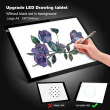 Upgraded Drawing Tablet LED Light Box A4 Graphic Writing Digital Tracer Copy Pad Board Diamond Paint Sketch X-Ray View Dropship - DISCOUNT ITEM  40% OFF Computer & Office