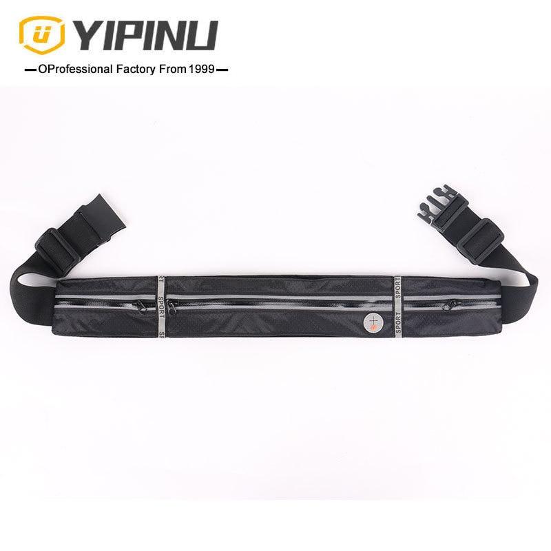 Yipinu Outdoor Thin Sports Waist Pack Marathon Mobile Phone Waist Bag Hidden Fitness Belt Running Mobile Phone Bag