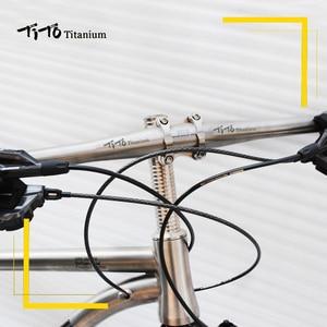 Image 5 - Титановый руль для горного велосипеда, плоский руль 31,8 или 25,4*600/620/640/660/680/700/720 мм с логотипом, бесплатная доставка