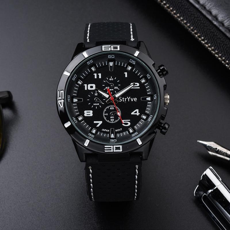 Top Luxury Brand Fashion Military Quartz Watch Men Sports Wrist Watches Clock Hour Male Relogio Masculino  Unique  Men Gift