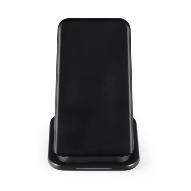 QI Wireless Phone Charger Wireless Fast Charger Phone Charging Stand Double Coil Desktop Charging Holder With Cooling Hole
