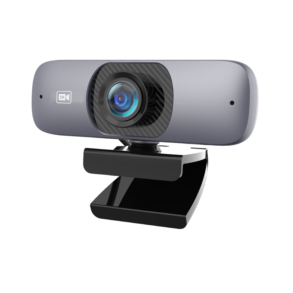 TISHRIC Best C200 120° Wide Angle 2K UHD 2560*1440P H.264 Webcam 2K 500W Pixels Web Camera with Microphone Web Cam for Computer 1