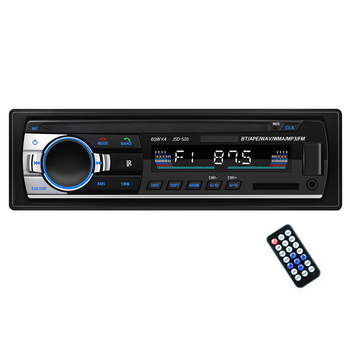 Car MP3 Player Bluetooth U Disc Radio Player Hands- Calls Auto MP3 Player with Remote Control 1pcs Car Accessories Gadgets image