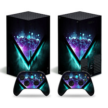 Science Fiction Style Skin Sticker Decal Cover for Xbox Series X Console and 2 Controllers Xbox Series X Skin Sticker Viny 1
