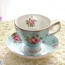 Coffee Cup Set European Bone China English Style Afternoon Tea Set Coffee Cup SaucerEuropean Style Bone China Coffee Cup