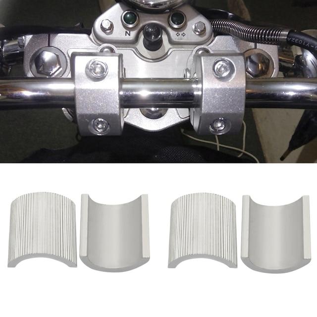 4 pièces/ensemble moto 7/8 pouces à 1 pouce