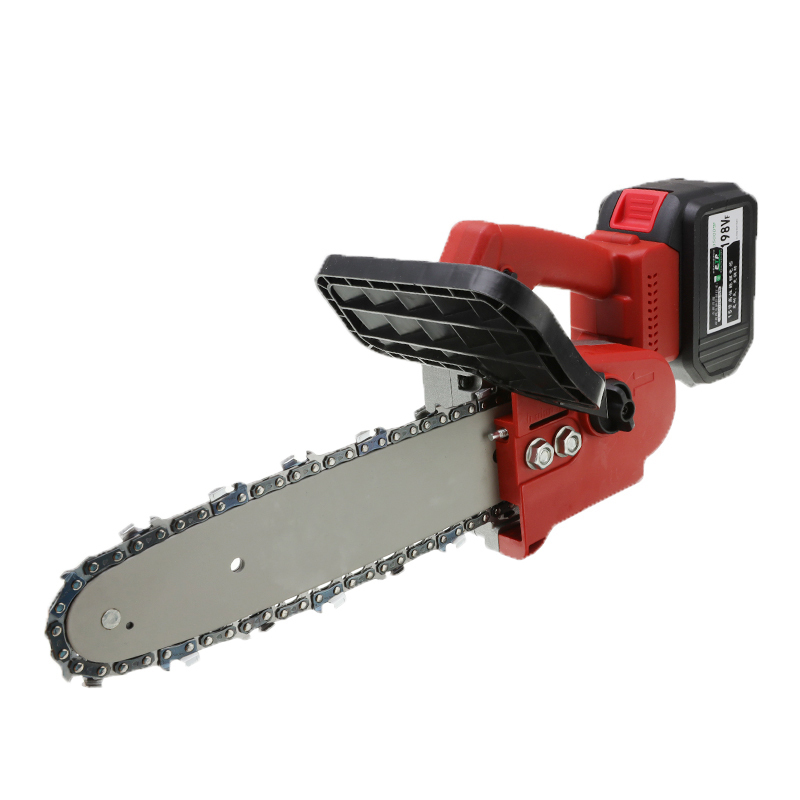 1200W Cordless Chain Saw 88V/198V Woodworking Electric Chain Saw Wood Cutter Garden Tools Portable Rechargeable Lithium Saw