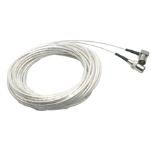 RG316 SMA кабель высокотемпературный коаксиальный кабель, SMA штекер SMA правый угол штекер, 1 м