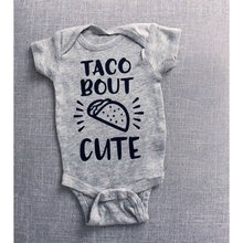 Combinaison Taco Bout pour bébé 0 à 24 mois, vêtements pour nouveau-né, combinaison Kawaii, à la mode, à manches courtes, été