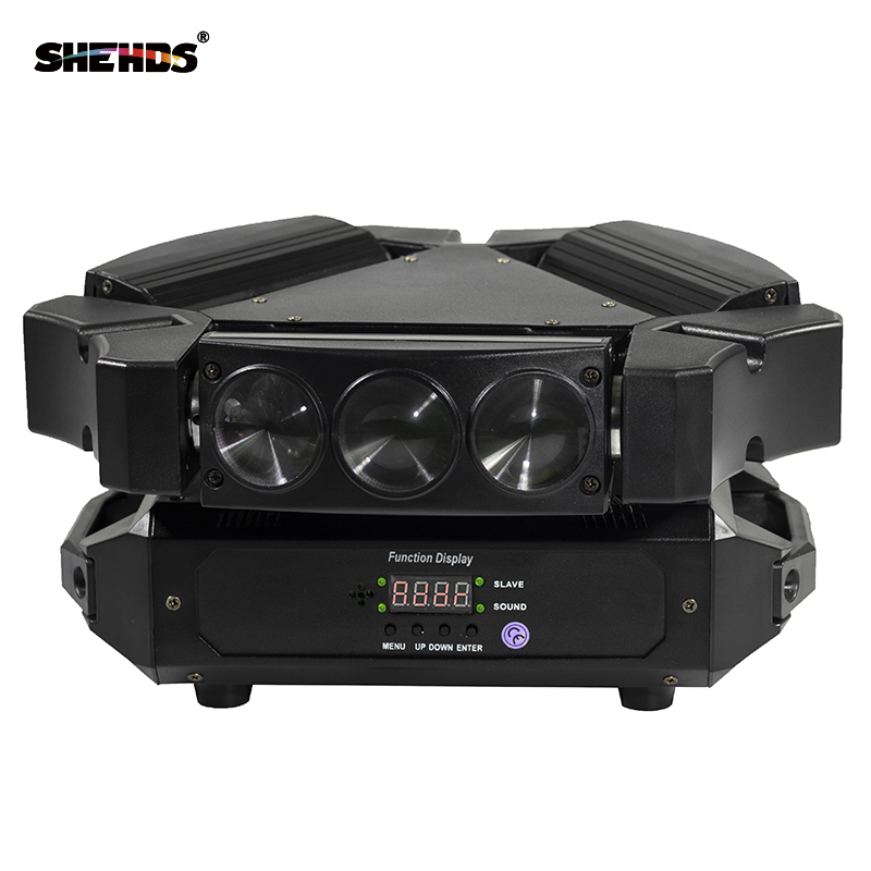 Long Lifespan High Power Mini LED Beam 9x10W RGBW4IN1 Moving Head DMX 512 Stage Effect Lighting For DJ Disco Parties