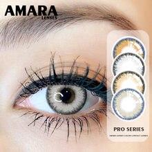 AMARA-lentillas de colores para ojos, 1 par
