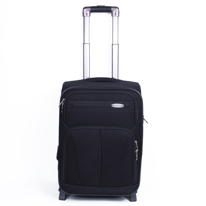 20.19 Million Wheels Bar Travel Lugguge Boarding Password Suitcase Factory High-End Customizable Gift Top Grade Oxford Cloth