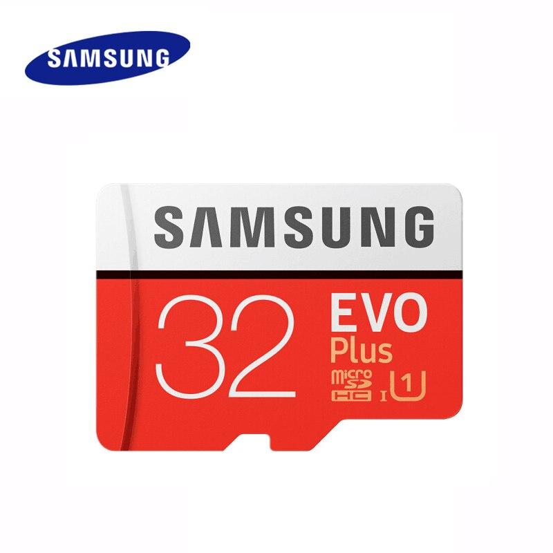 Samsung cartão de memória evo plus 32gb class10 tf cartão 32g micro sd cartão c10 microsdhc UHS-I u3