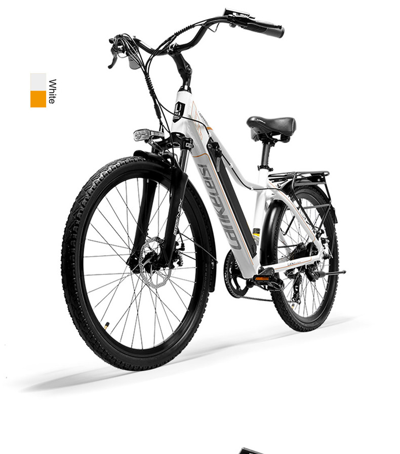 Cheap 26inch Electric mountain bike 36V lithium battery travel electric bicycle lighweight Ebike 21