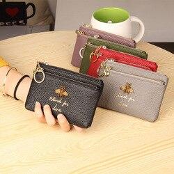 CICICUFF/брендовый кошелек из натуральной кожи для монет, женские Мини-кошельки для мелочей, детские карманные бумажники для монет, держатель д...
