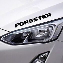 For Subaru Forester SH SJ 4PCS Auto Decor Vinyl PVC Stickers Car Whole Body Trim Decals Auto Brand Letters Decal Car Accessories